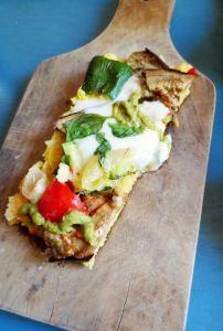 Polentarte aux légumes grillés et basilic de Patty