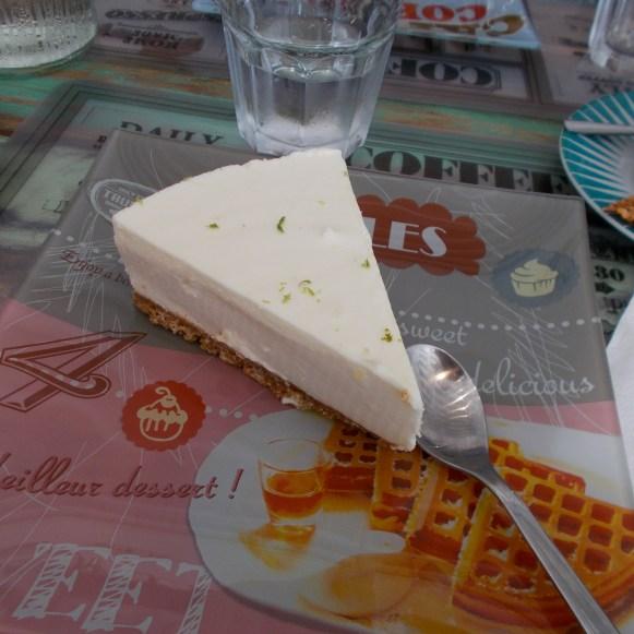 le cheesecake au citron