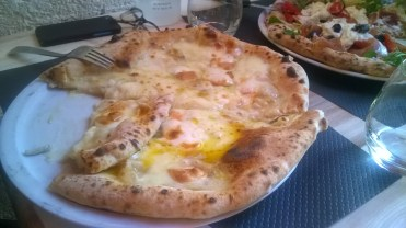 pizza 5 fromages !