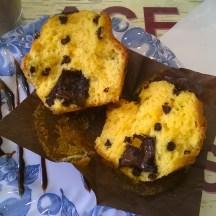 muffin citron-chocolat