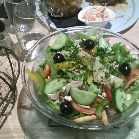 Salade végétarienne
