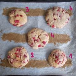 comparatif cookie après cuisson