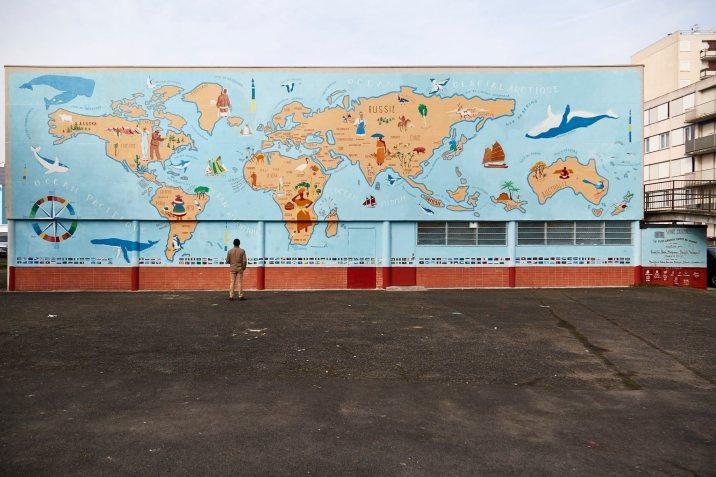Cité des Marnaudes, Rosny / Crédit Photo : @puxanbc | www.puxanbc.com