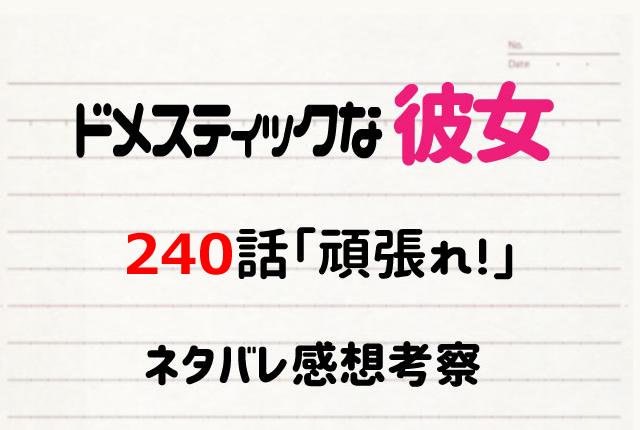 ドメカノ240ネタバレ画像