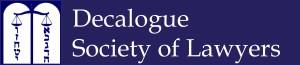 Decalogue Blue Logo Banner