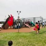 川崎競馬場は子供と一緒に行くべき。遊び場やピクニックで楽しめる