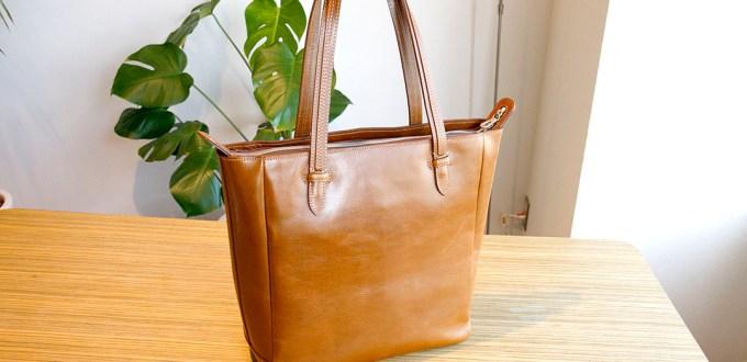 エルゴポック Glazed Leather 肩掛けトートバッグ HERGOPOCH GL-TT