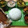 肉・肉・肉・魚・野菜・野菜の南インド料理