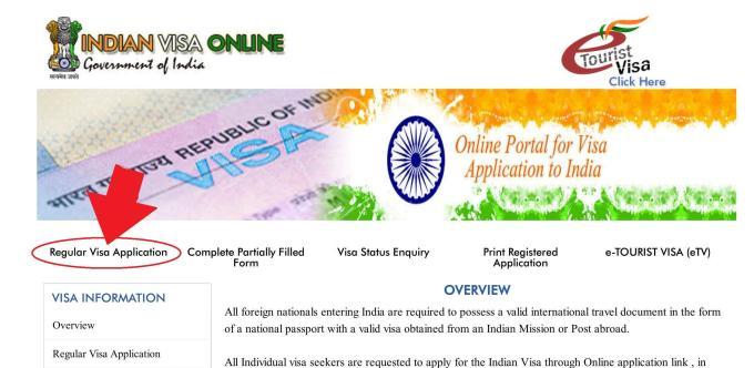 Indian Visa Application_01