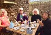 Fresh tea and cake at Belstone