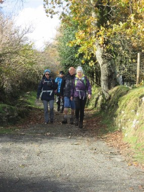 Coming down into Widecombe