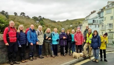 Saturday group in Kingswear