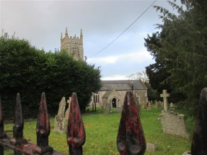 Back to Christow Church