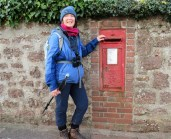 Compulsory Edward V11 Post Box