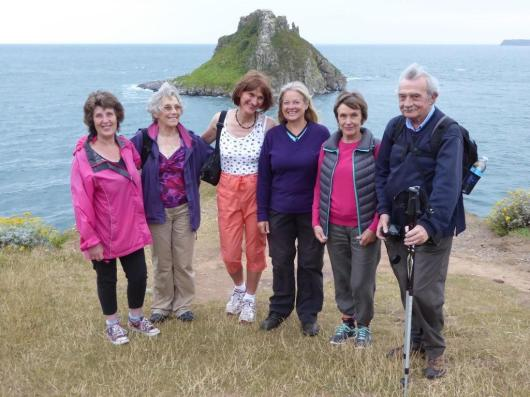 Anstey's Cove 2015 - led by Les Grant