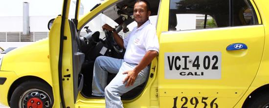 Historia de cuernos y balas de un taxista colombiano