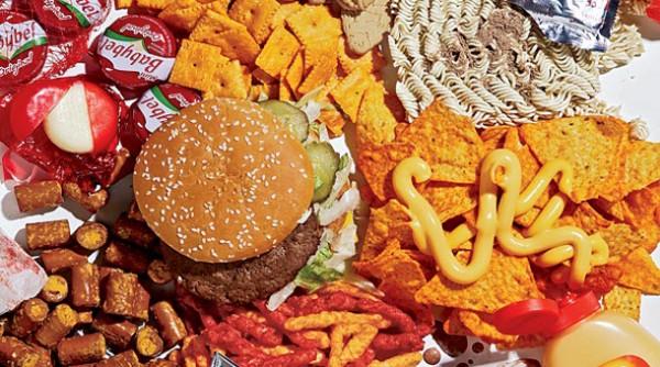 Los alimentos con mas calorías
