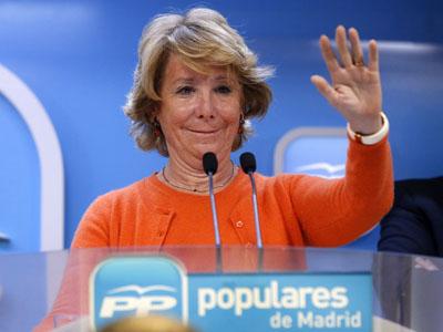 """Por poco hago un """"Pequeño Nicolas"""" con Esperanza Aguirre"""