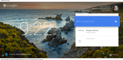 Google+ Hangouts (1)