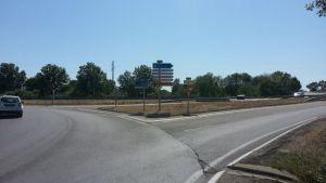 Road signs near La Grande Motte
