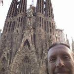 Selfie La Sagrada Familia