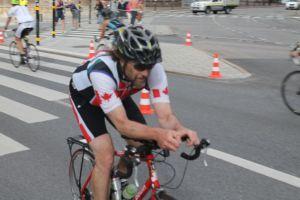 Cycling Tegelbacken Stockholm Triathlon 2014