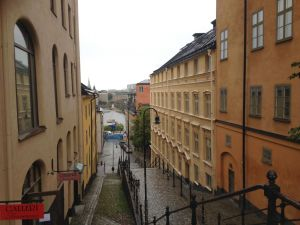 View of Stockholm from Hornsgatan
