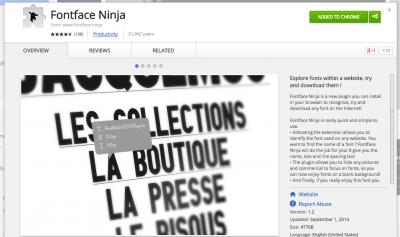 Fontface Ninja - Chrome Web Store