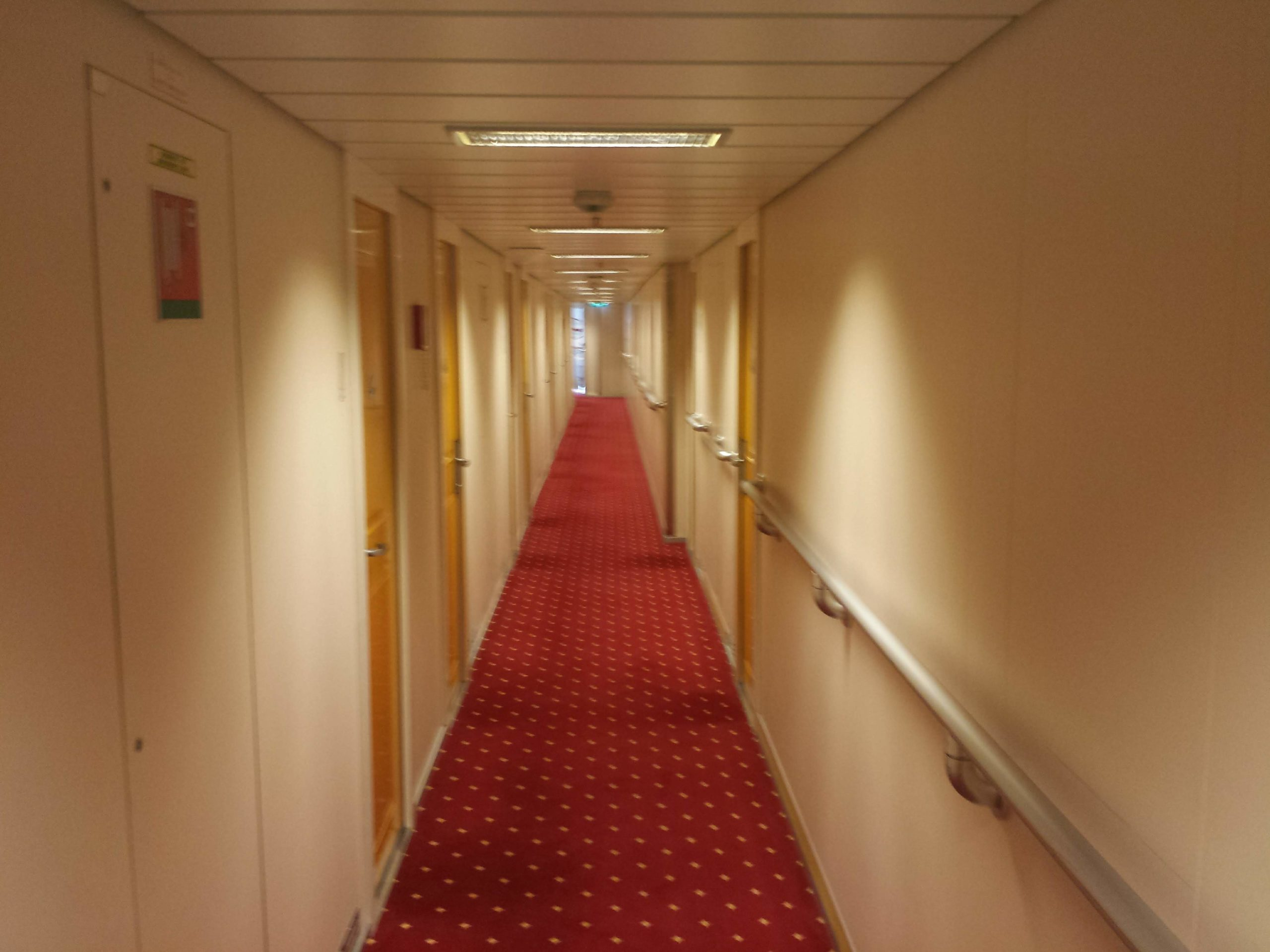 Corridor onboard MS Richard With