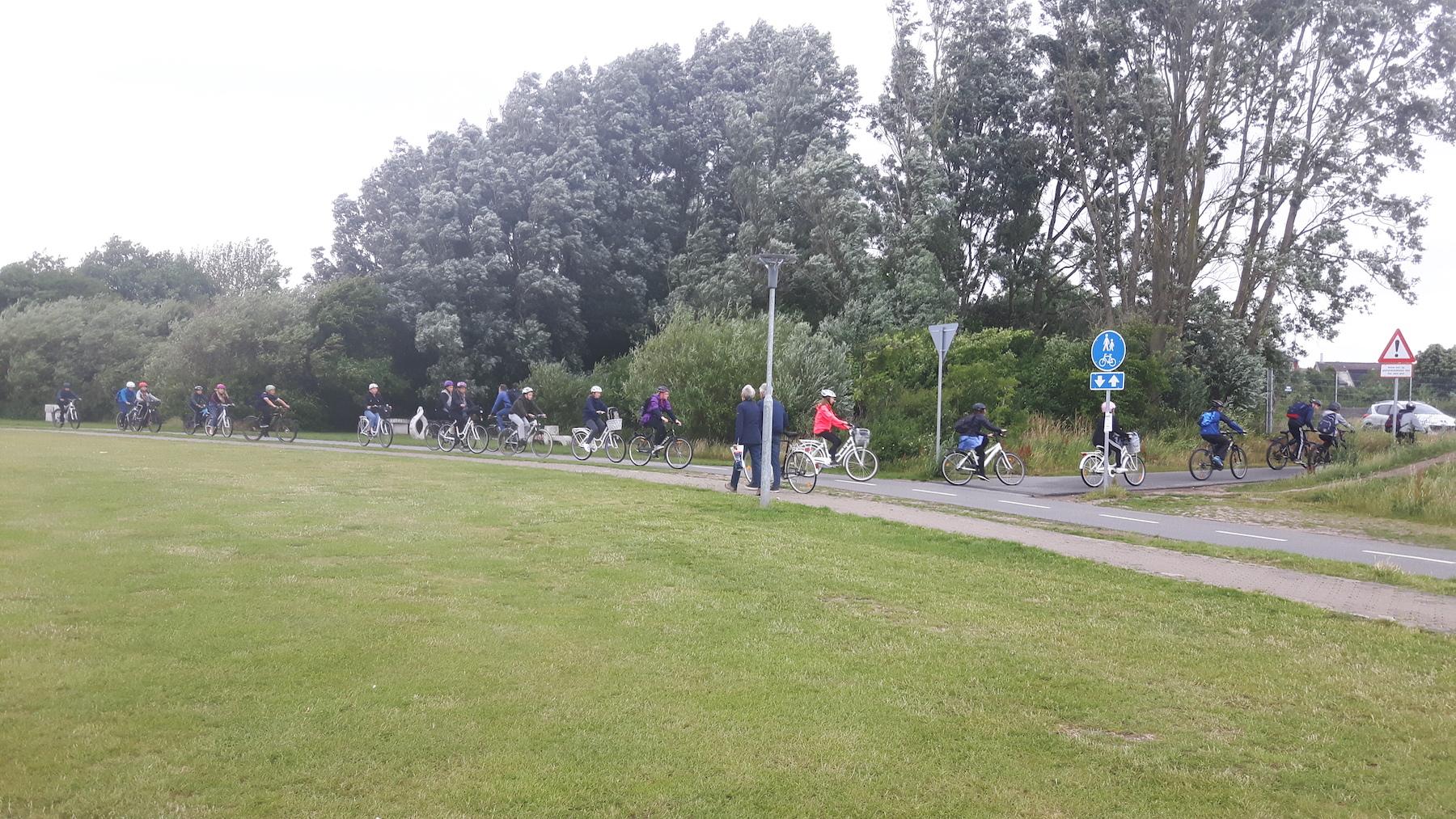 Cycling in Aalborg Denmark
