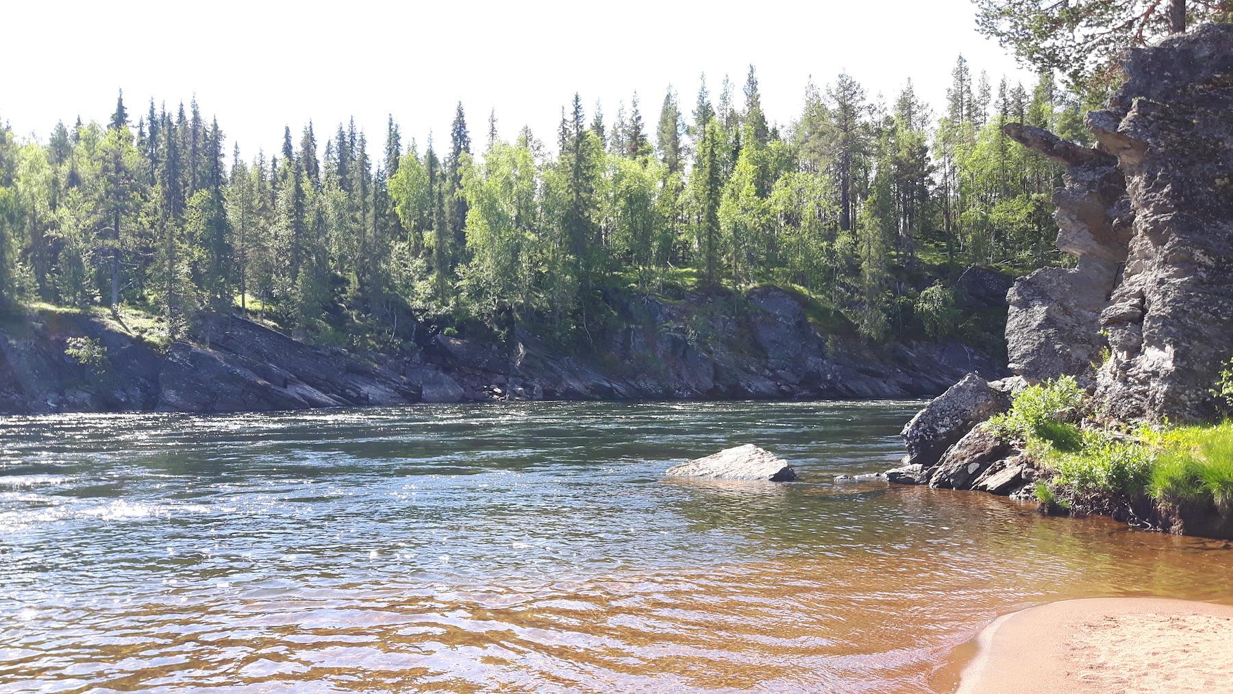 Kalix River Sweden