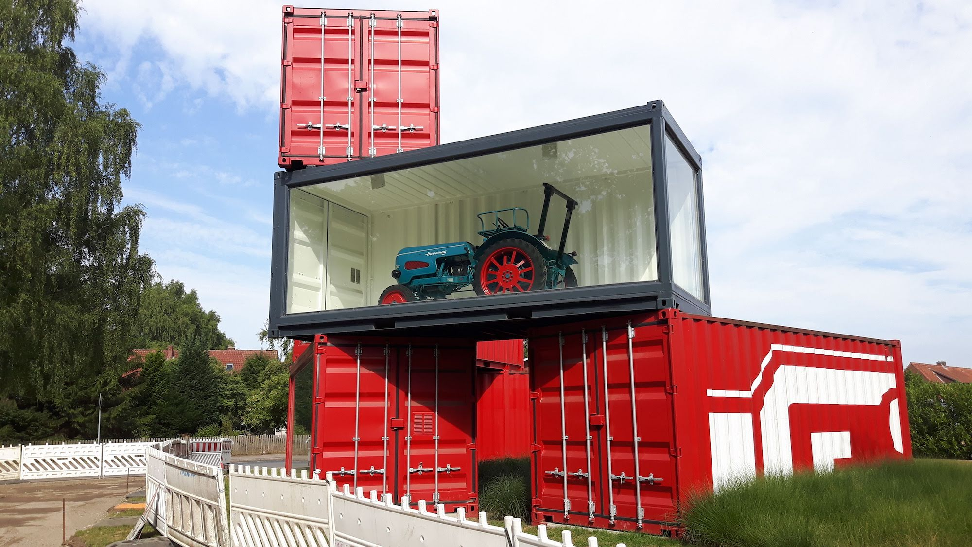 A tractor on Germany