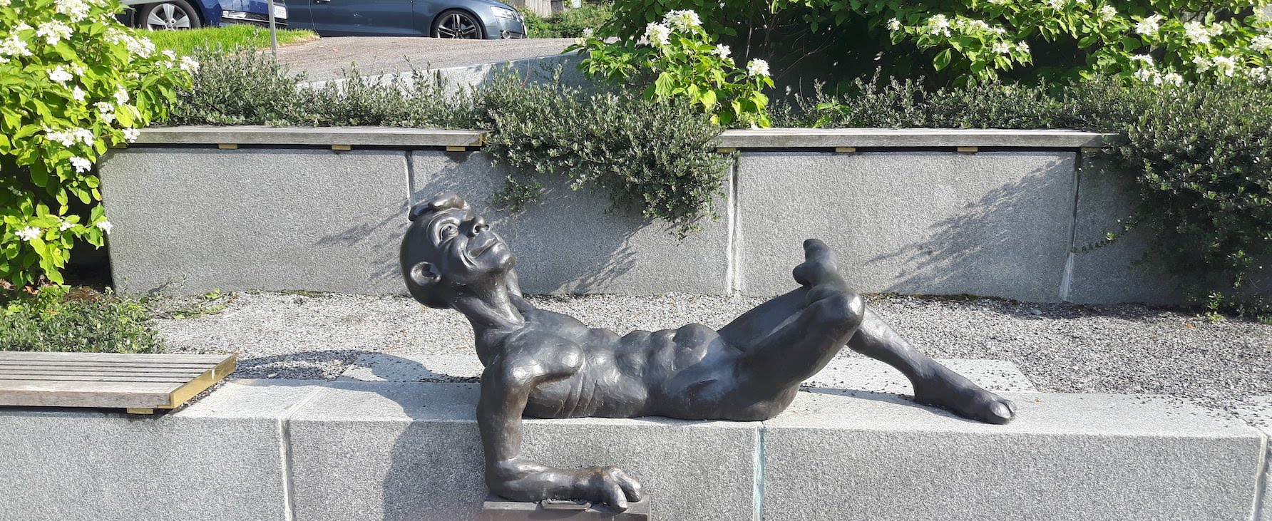 Statue Turku Finland
