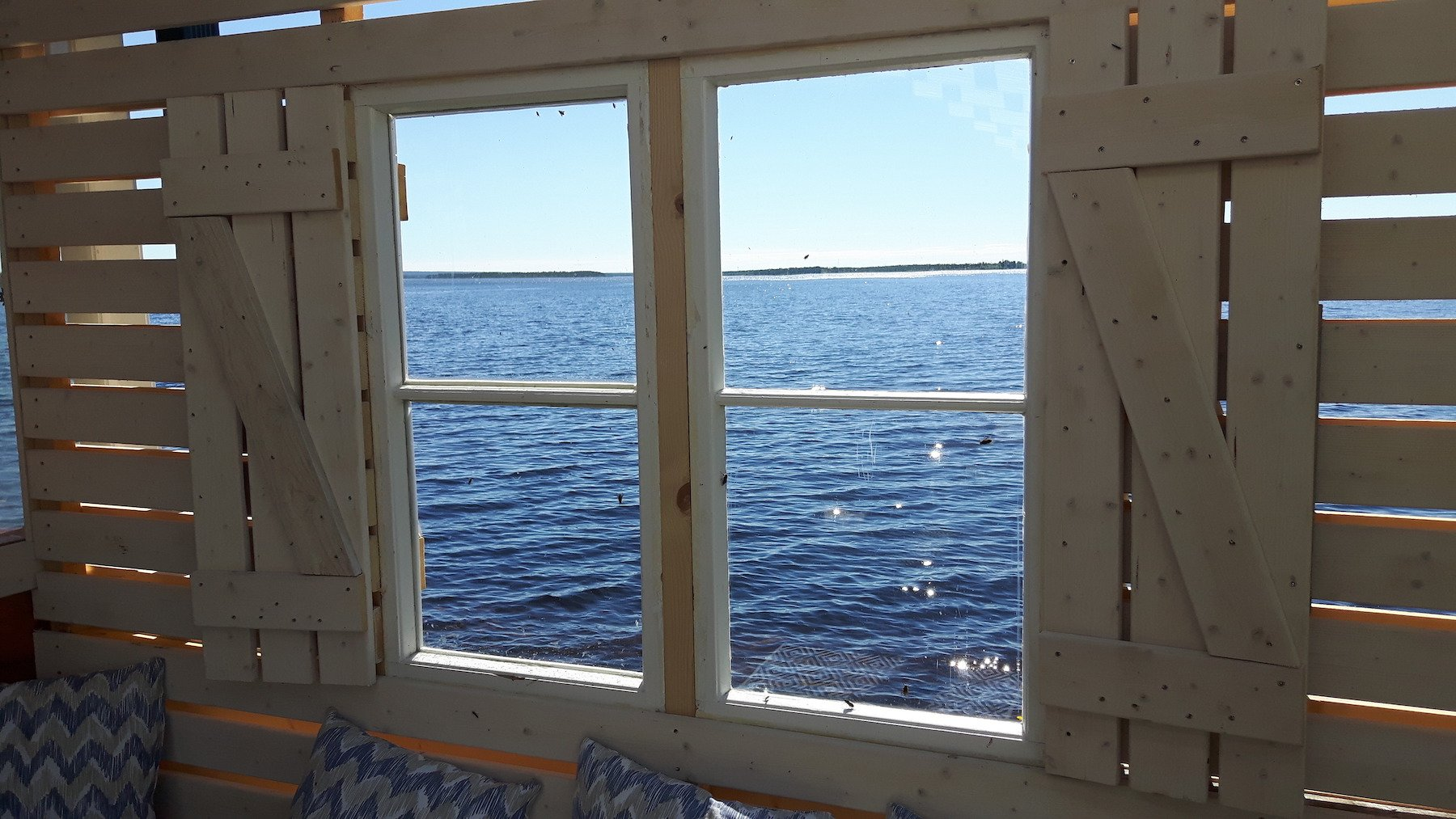 Window in Cafe Harianna Vajunen Finland