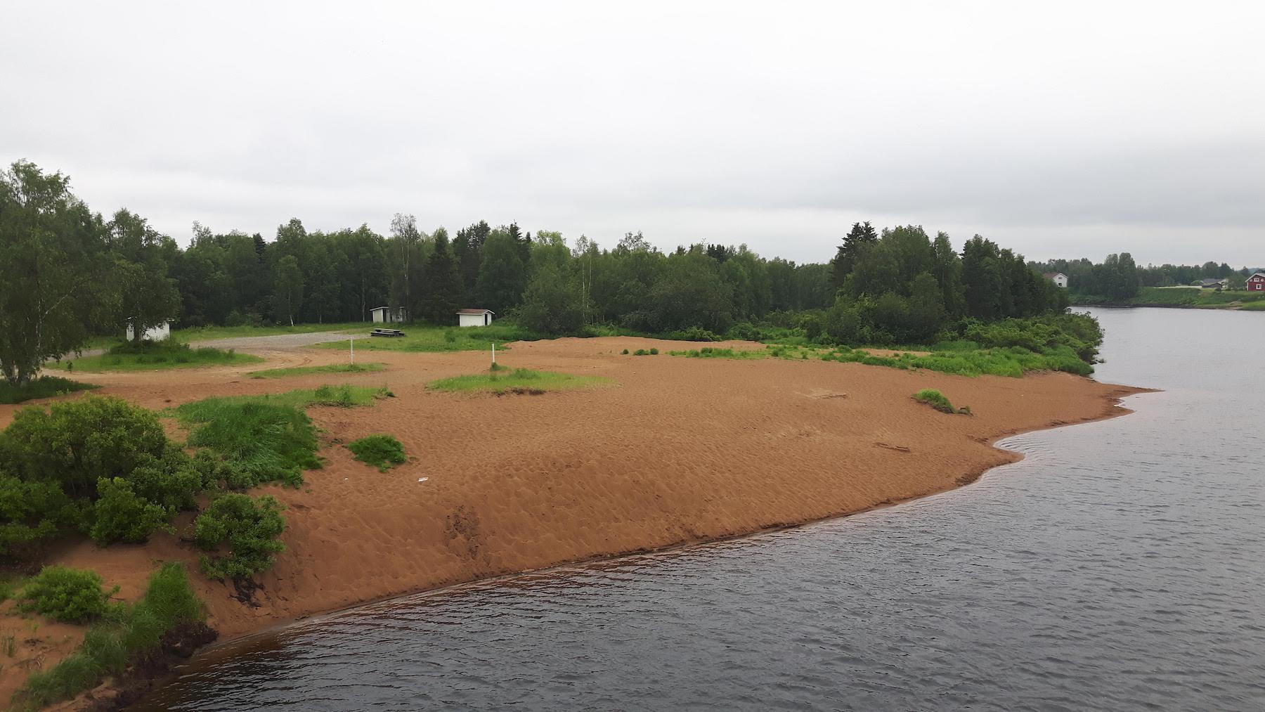 River Bank Near Kitila Finland