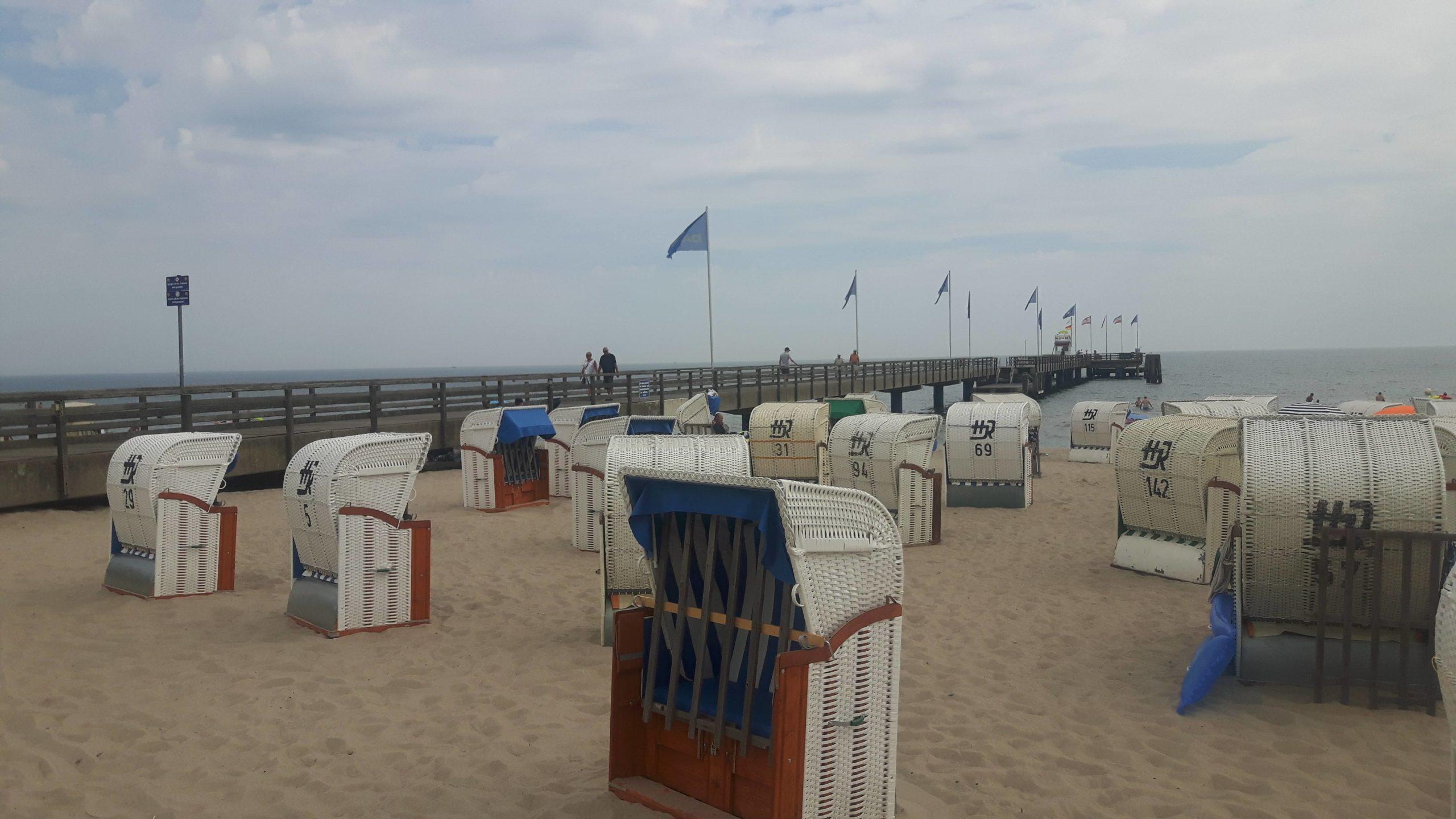 Beach Grömitz Germany