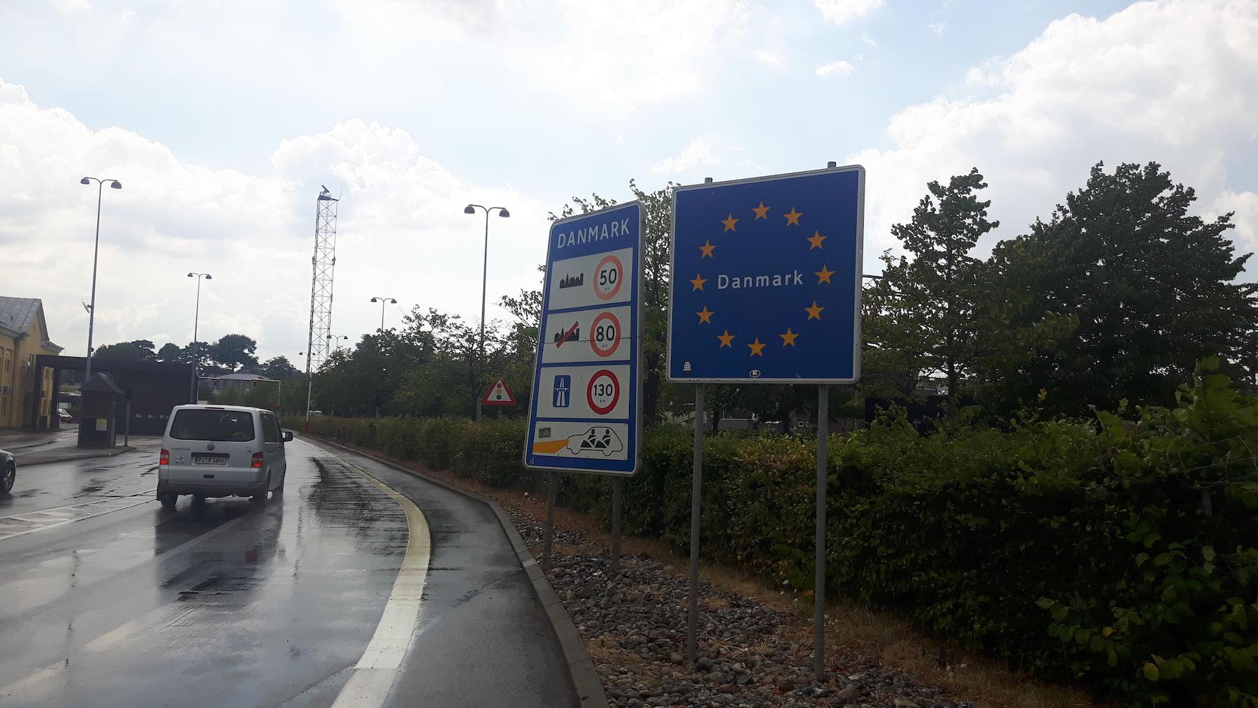 Entering Denmark In Helsingor