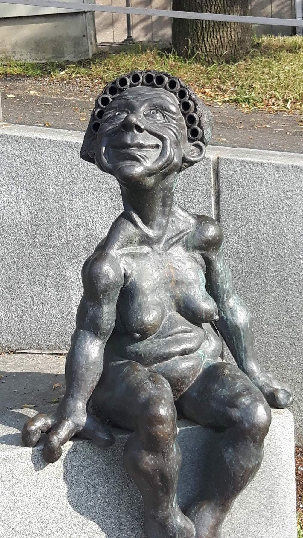 Statue Turku Harbour