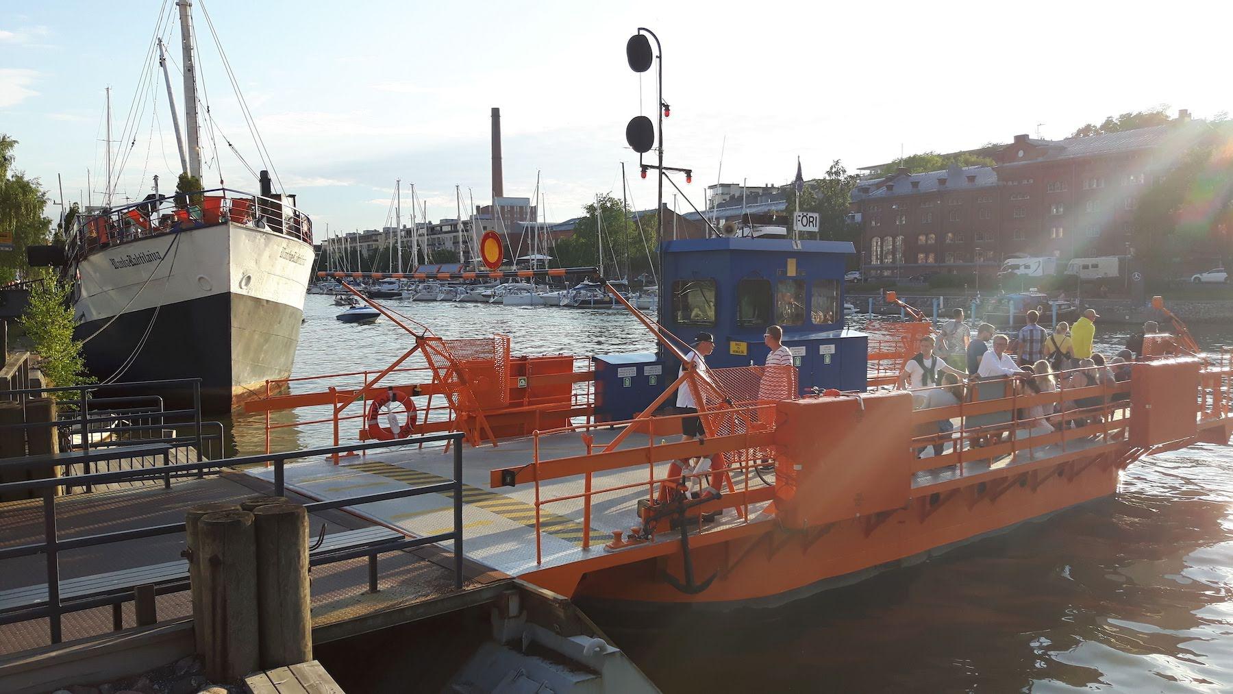 Local ferry Turku Harbour