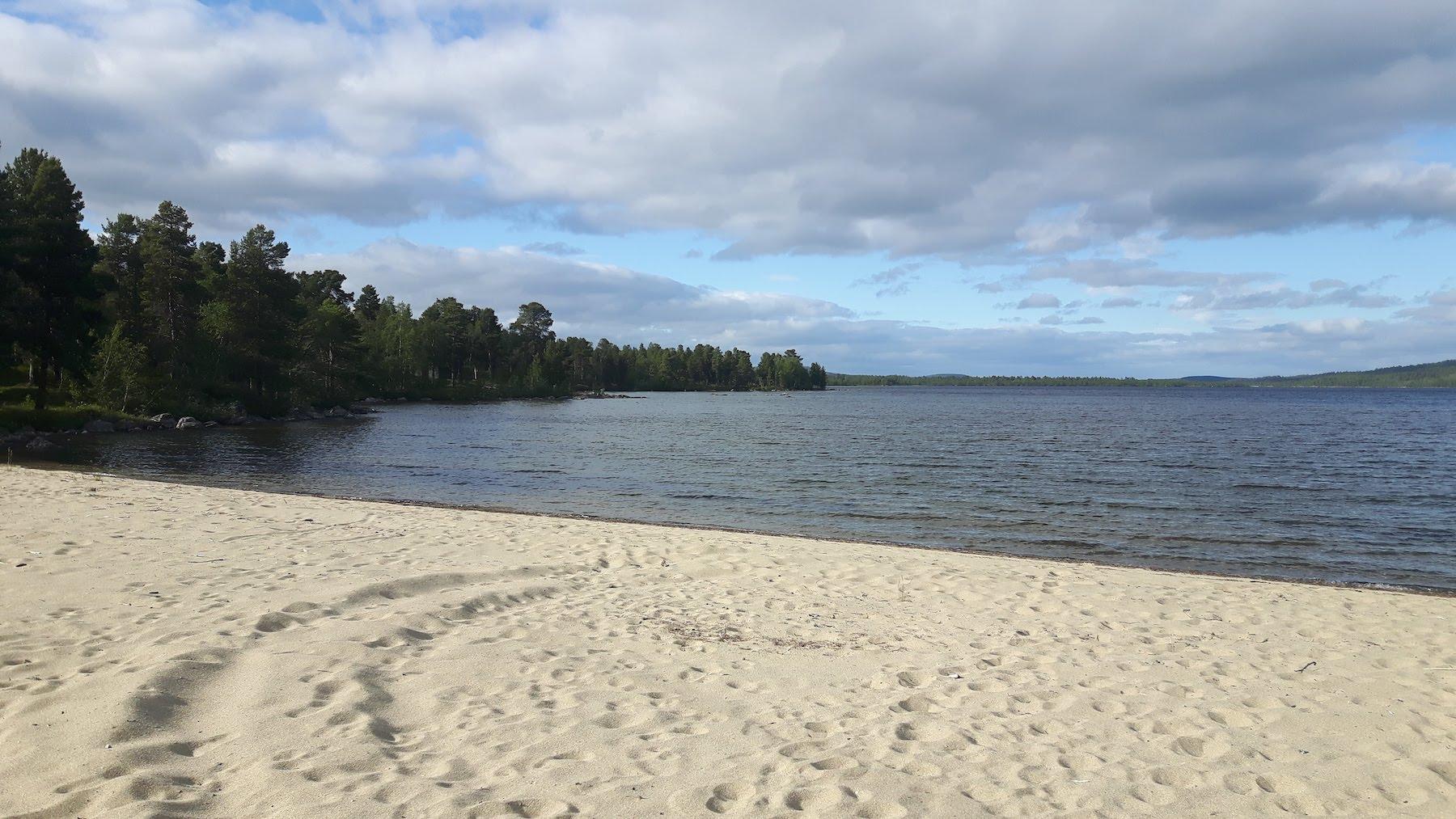 Beach Sevettijärvi