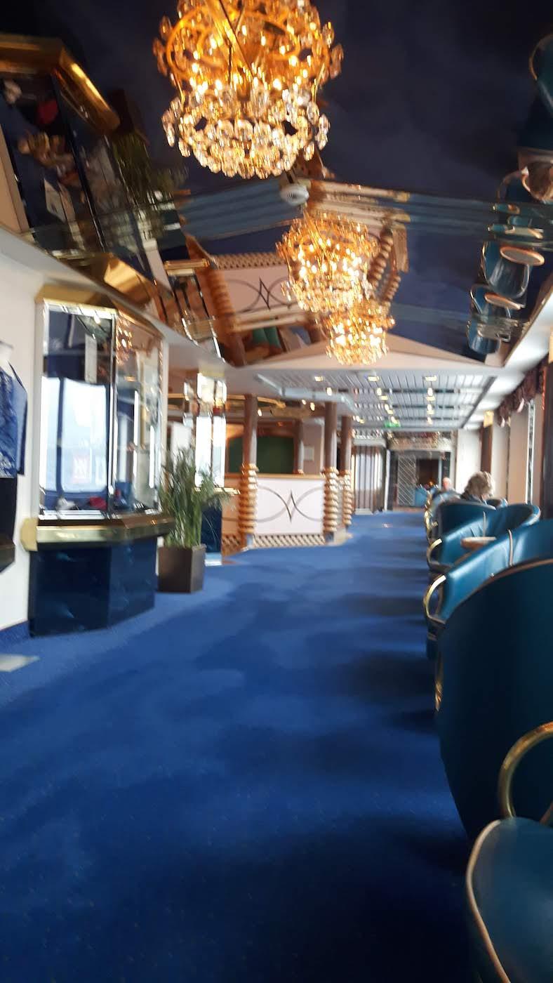 onboard hurtigruten ship