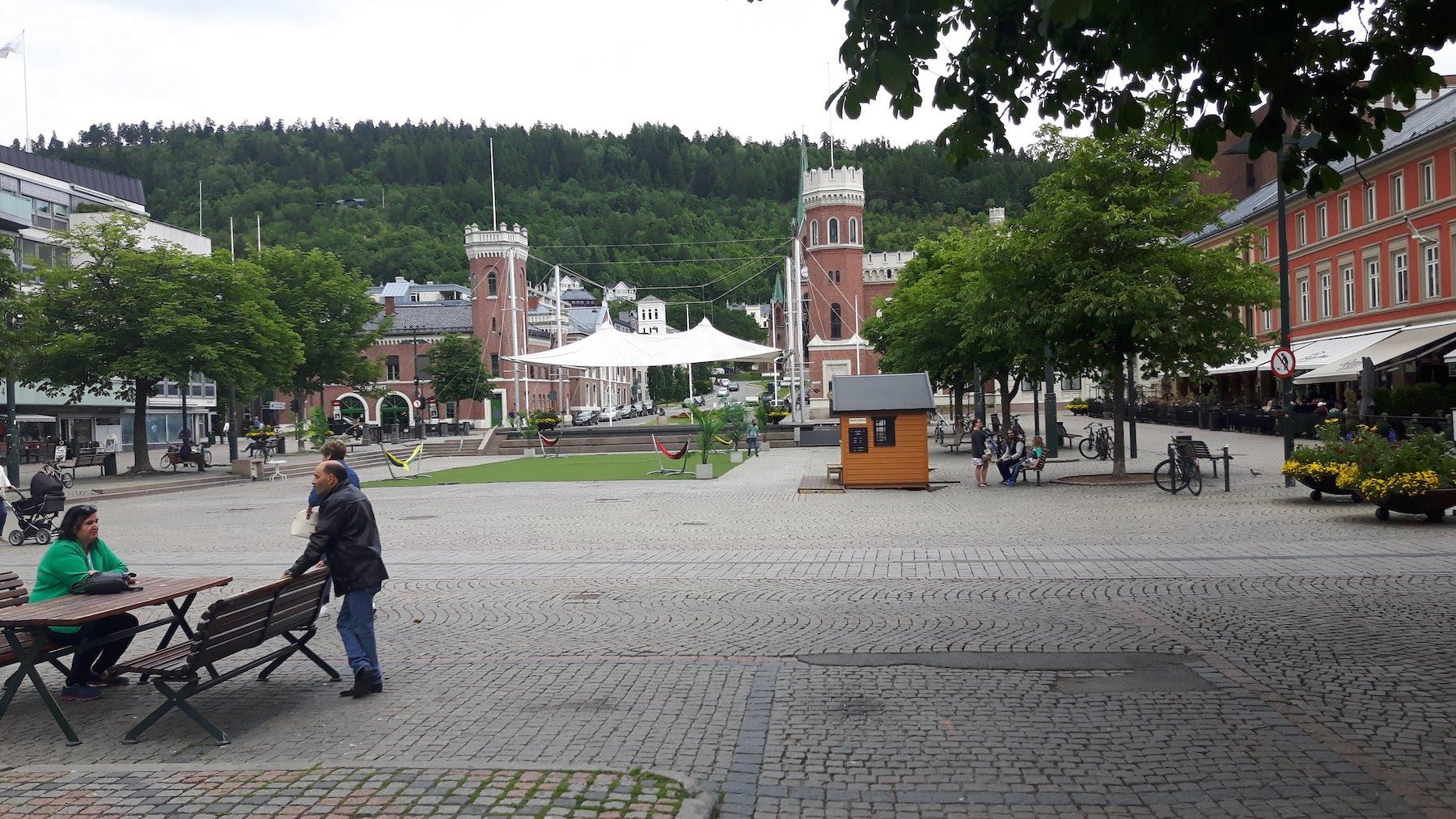Drammen city-centre