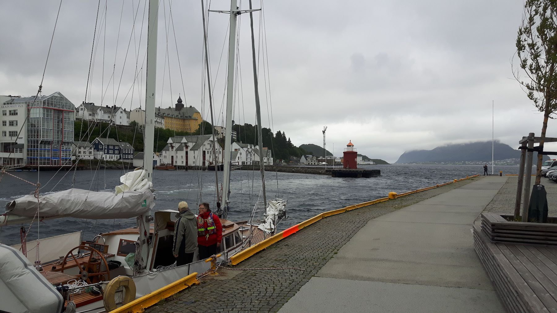 Alesund Harbour Norway