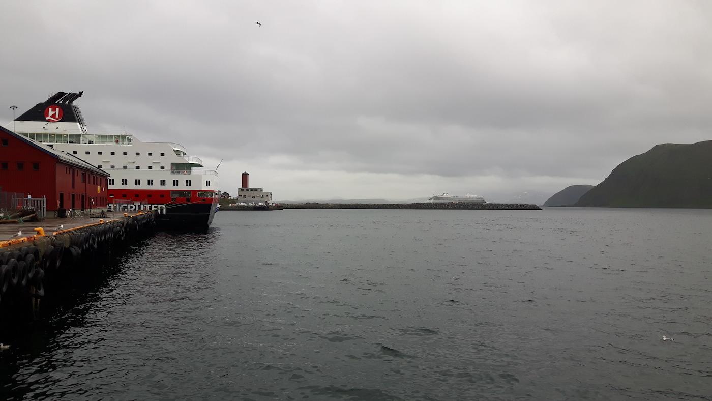 Hurtigrutten Ship Honningsvåg Norway