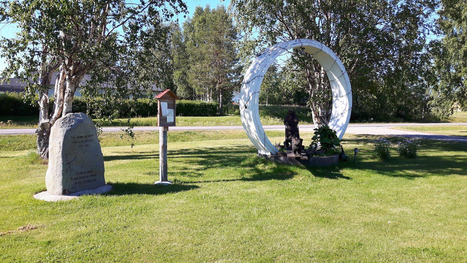 Memorials In Junosuando Sweden