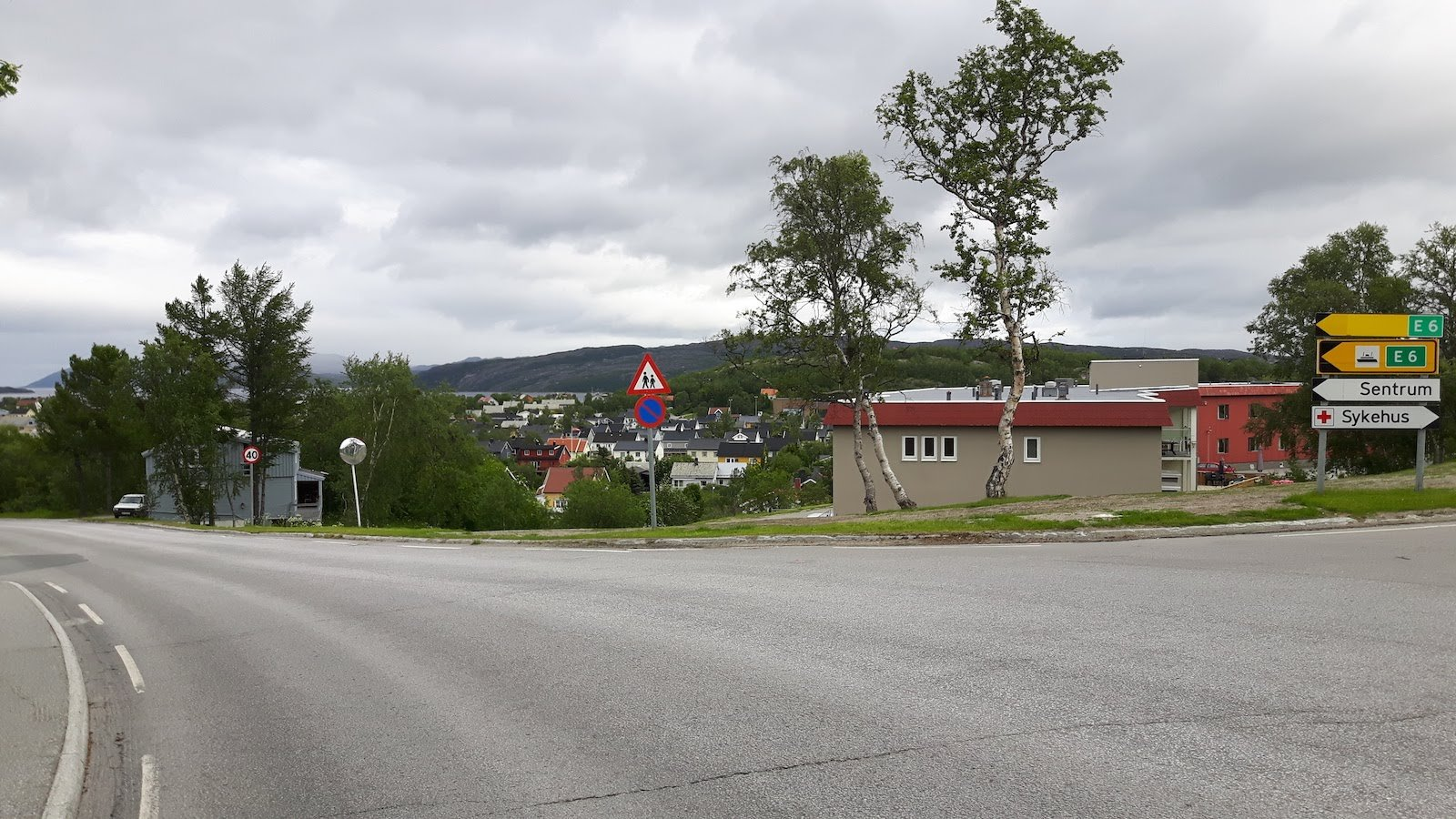 Kirkenes Norway main road