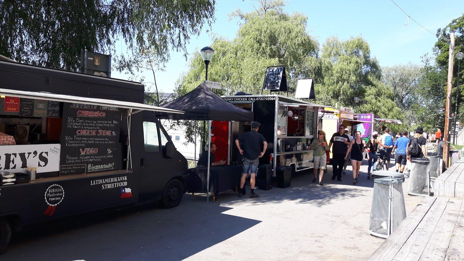 Food Trucks Stockholm Sweden
