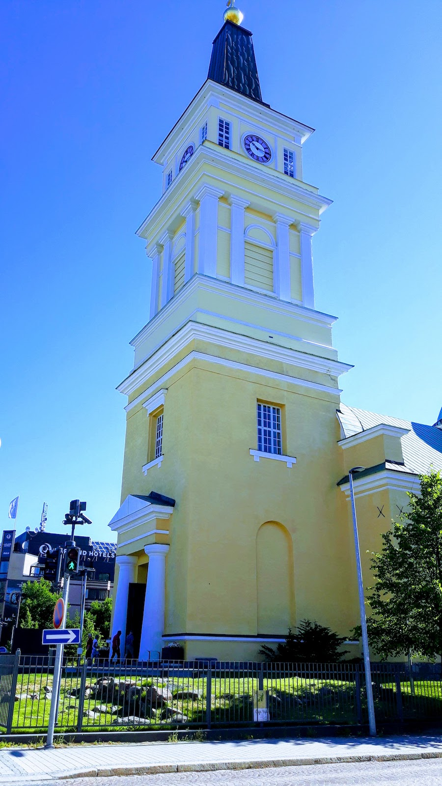 Church Oulu Finland