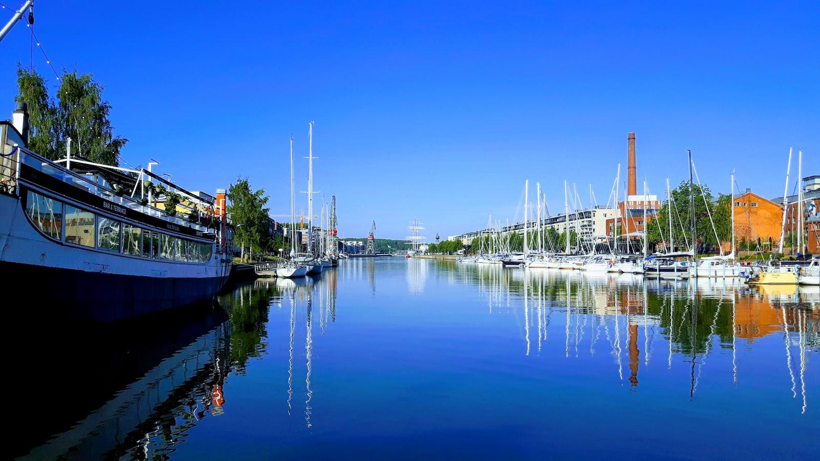 Turku Harbour Finland