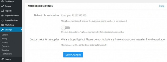 automated drop shipping